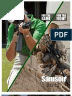 Samson Manufacturing 2013 Catalog