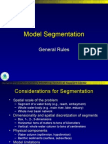 Model Segmentation Geographical