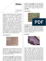 Histological Stains 1