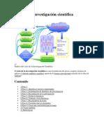 Ciclo de la investigación científica