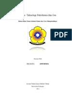 Tugas  Teknologi Petrokimia