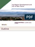 Jakarta-Bandung Region Development and the Phenomenon of New Towns