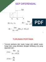 Fis (1a) Konsep Diferensial