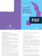 Official Girls in Ict 2013 Flyer