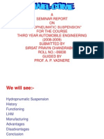 Hydropnumatic Suspension