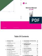 Mobile Phone LG C1100 Service Manual