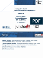Kenya ICT Market Survey - Julisha II