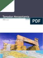 Lokasi Dan Kerangka Masa Tamadun Mesotopamia