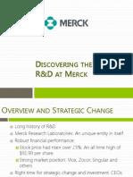 Merck Pharma Case study