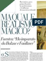 Anticipazione dell'intervista a Carlos Fuentes, «Ho imparato da Balzac e Faulkner» - La Repubblica 12.03.2013