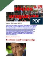 Noticias Uruguayas Martes 12 de Marzo Del 2013