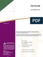 Norme FD P18-326 (Exigences XF pour Béton - gel) - 2004