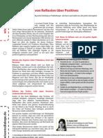 Wissensblitz 104 Reflexion Ueber Positives1