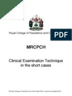 MRCPCH Clinical Exam Technique