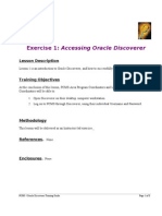 Discoverer Exercises