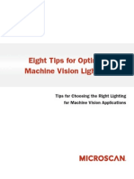 8 Tips for Optimal Machine Vision Lighting