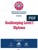 Nsc a a Goalkeeping Level i Diploma Course Hand Out