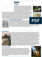 History of Landscape