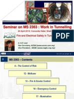 MS2363 - Work in Tunneling, Fire & Electrical Safety