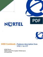 Training4 Nortel Feature Evolution V15.1.1 to V17