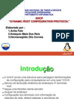 Apresentacao de DHCP SERVER