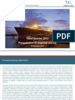 Hoegh LNG 2012 Q3 Presentation