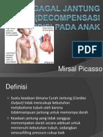 Gagal Jantung (Decompensasi Cordis) Pada Anak