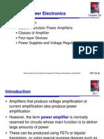 Power Amplifiers Chap22