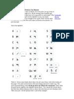 Write Your Name in Elvish in Ten Minutes