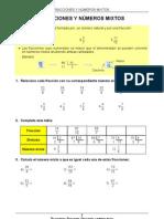 50 Fracciones y Numeros Mixtos