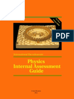 IB Physics IA Guide