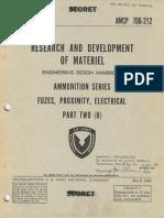 AMCP 706-212 Ammunition Series - Fuzes, Proximity, Electrical. Part 2
