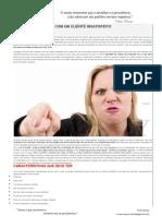5 Passos Para Lidar Com Um Cliente Insatisfeito