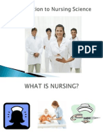 Introduction to Nursing Science PPT