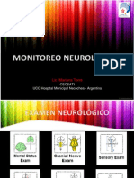 Neuromonitoreo y Stroke