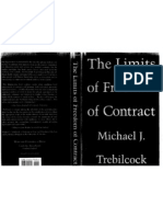 M.J. Trebilcock - The Limits of Freedom of Contract