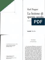 Popper, Karl - La Lezione Di Questo Secolo - 1992