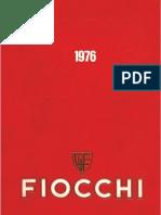 Catalogo Fiocchi 1976