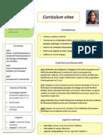 CV Mathilde Soraruff