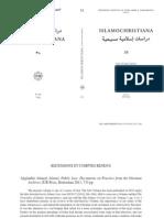 Review PISAI Vaticaan Akgunduz Public Law