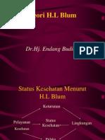 Teori H.L Blum - Data Akhmad Ahdiyat Budianto 0318011002