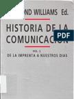 16477554 Williams Raymond Ed Et Al Historia de La Comunicacion Vol 2 1981