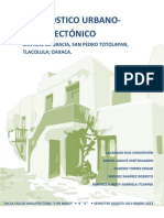 Diagnostico Urbano Arquitectonico