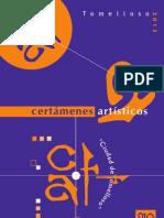"""Bases Certámenes Artísticos """"Ciudad de Tomelloso 2013"""""""