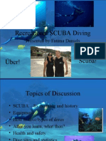 Scuba Diving Presentation Complete Light Color