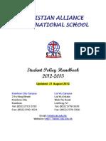 CAIS student handbook