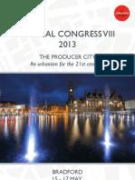 The Academy of Urbanism Congress 2013 - Bradford