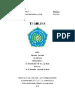 Referat TB Milier Maryam Mayidah (10542 0031 08)