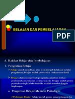 Belajar Dan Pembelajaran1