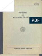 OP 2213 - Pyrotechnics and Miscellaneous Explosive Items - 1957